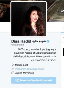 Diaa Hadid twitter