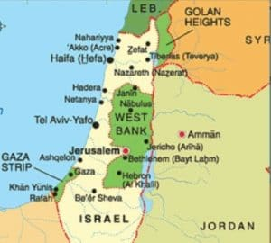 WHERE HADIDISM CAN LEAD: The northern port city of Haifa, which is situated in the West Bank. Huh?